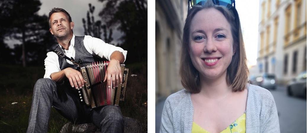 Ulf-Arne Johanessen (venstre, foto: Martine Petra Hoel) og Magni Rosvold (foto: privat) gler seg til å starta opp i «Bygda dansar Hordaland» i september.