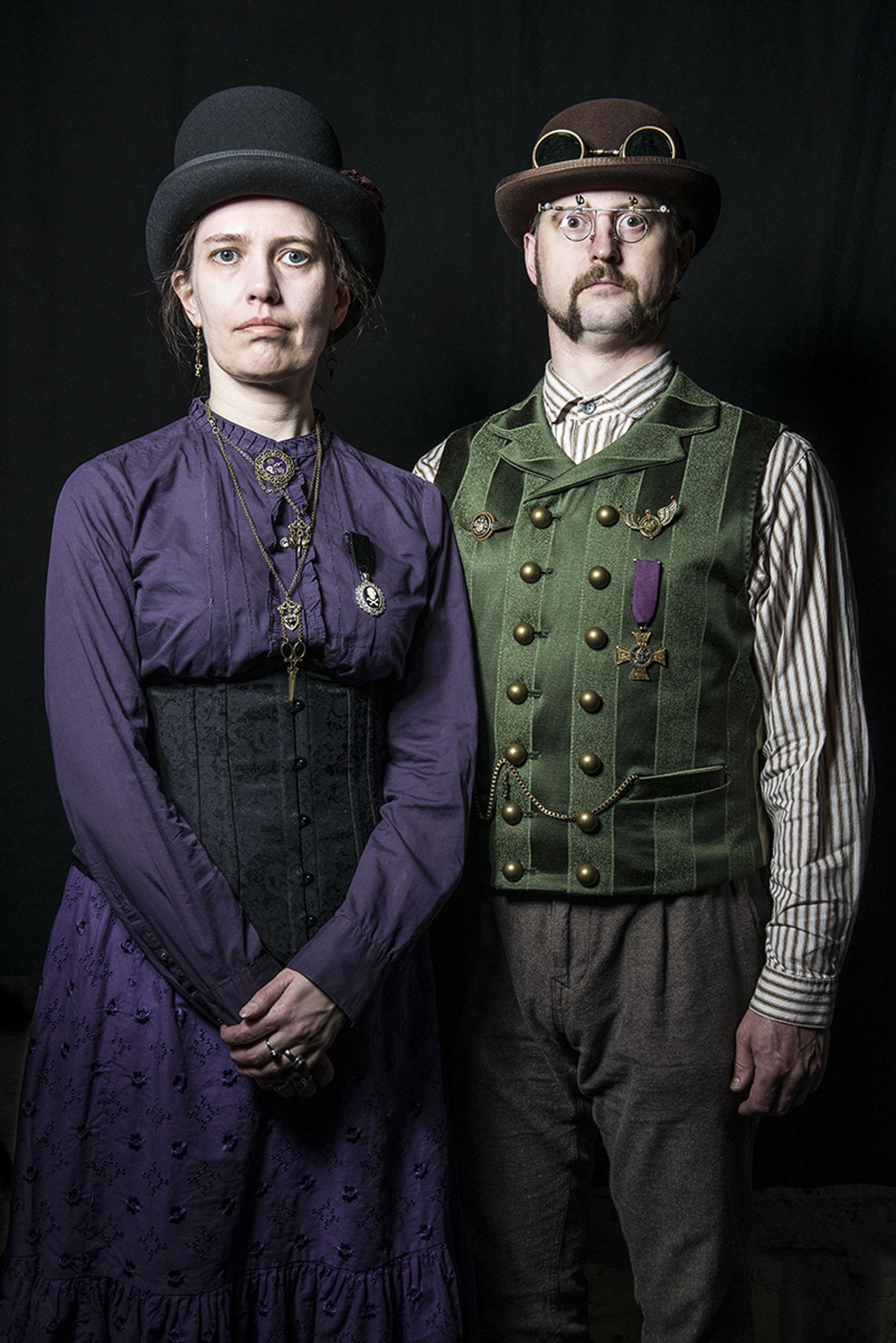Steam Punk Couple