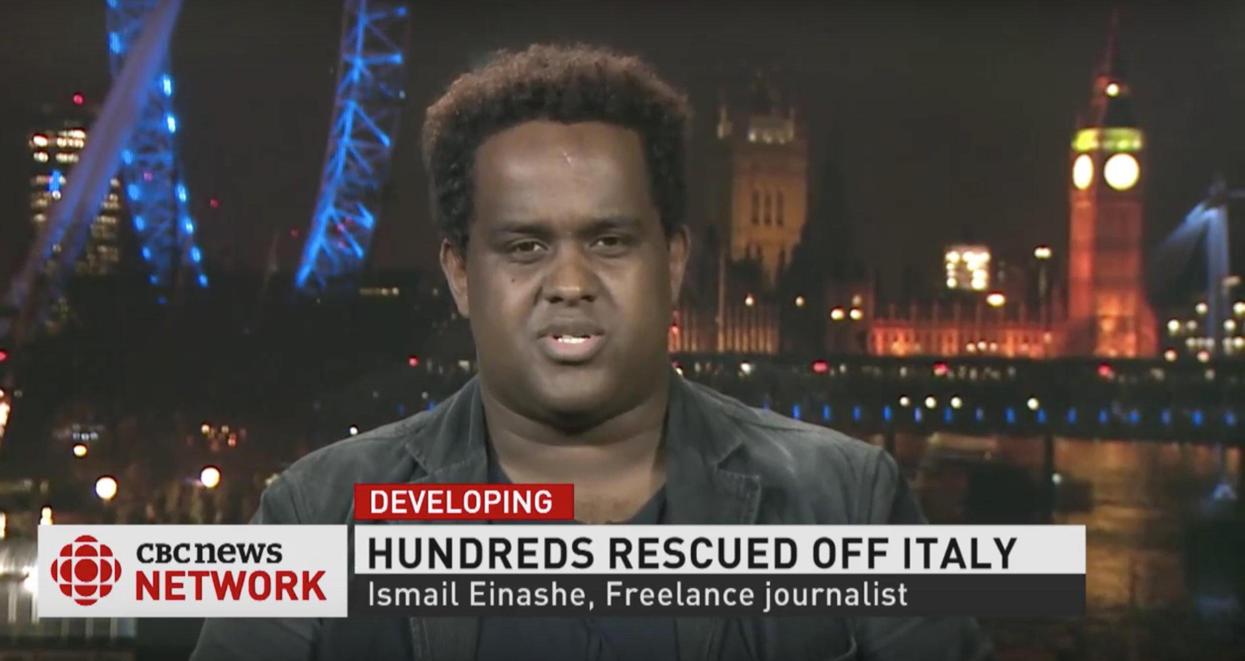 CBC News interview