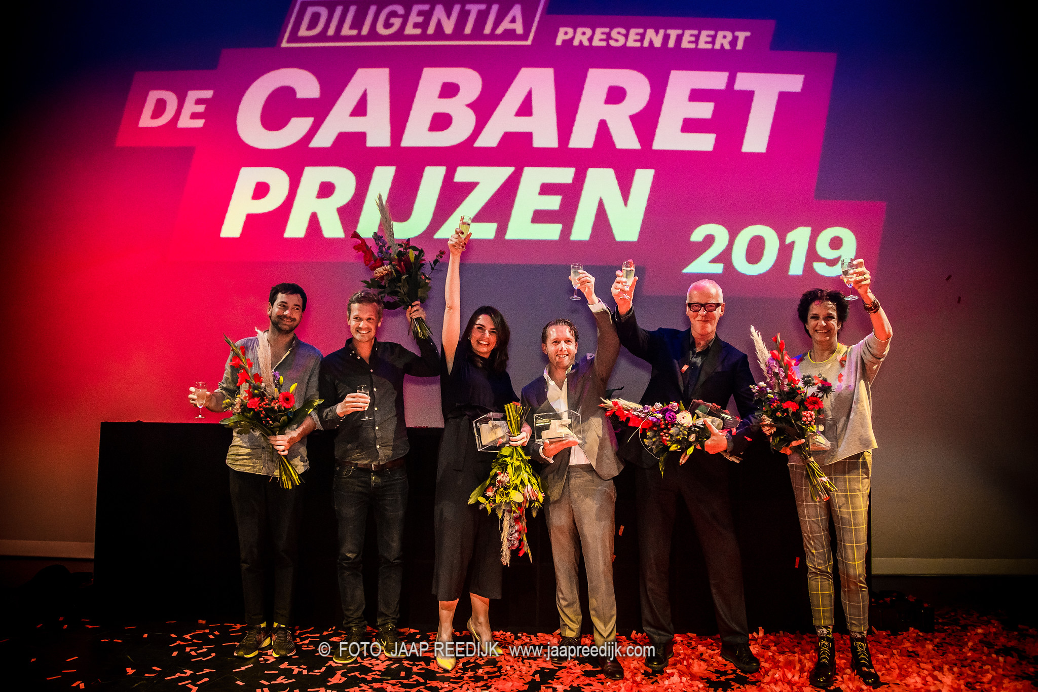 @ Theater Diligentia, the Hague, after winning Poelifinario 2019