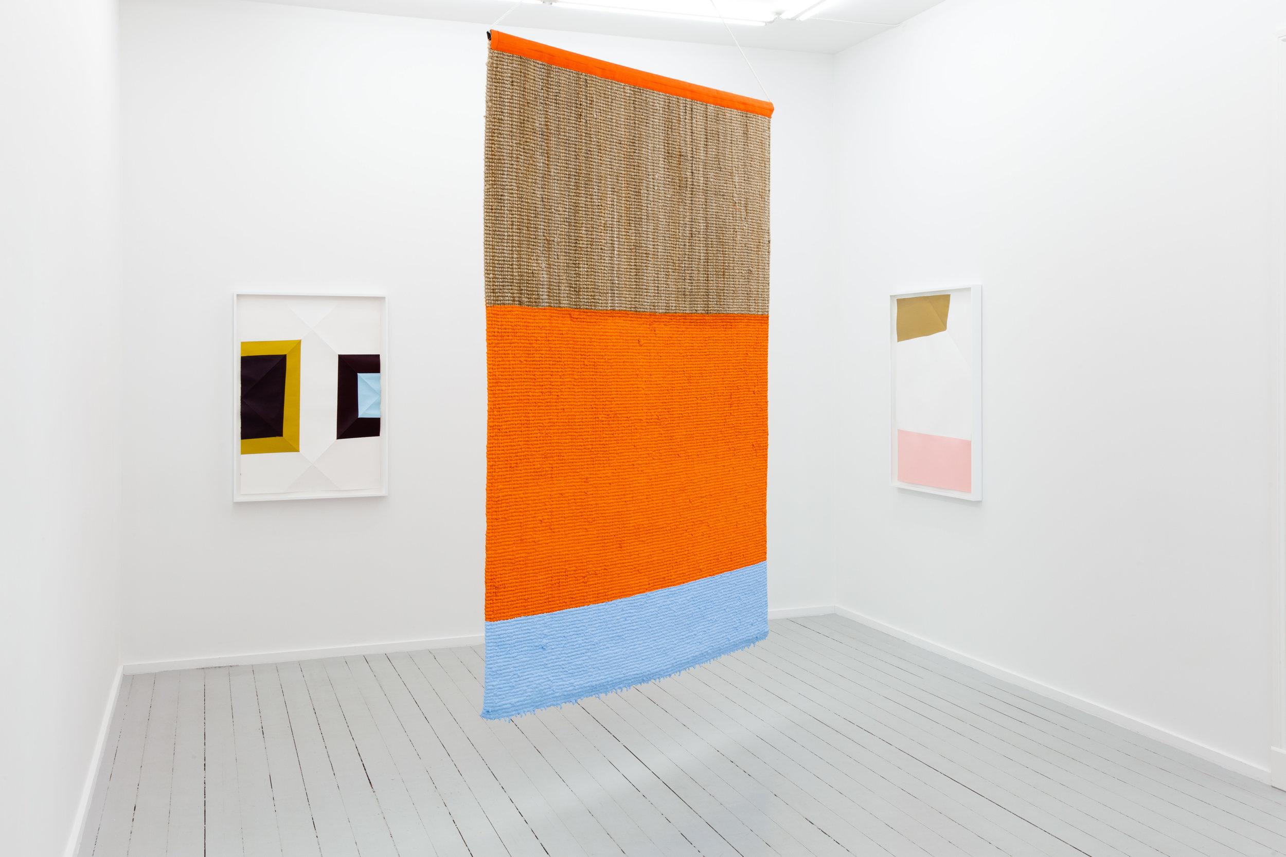 Installation view Galleri Riis Arbinsgate Oslo 2017 - 2018
