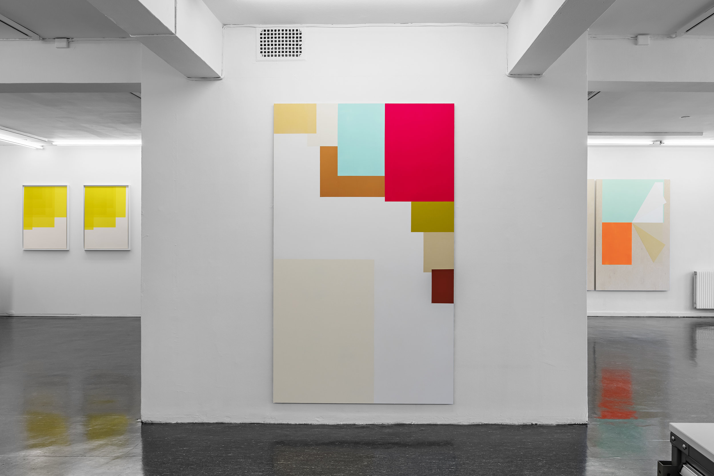 Collecting Colours . 2016. Installation view Galleri Riis Kristian Augustsgate Oslo