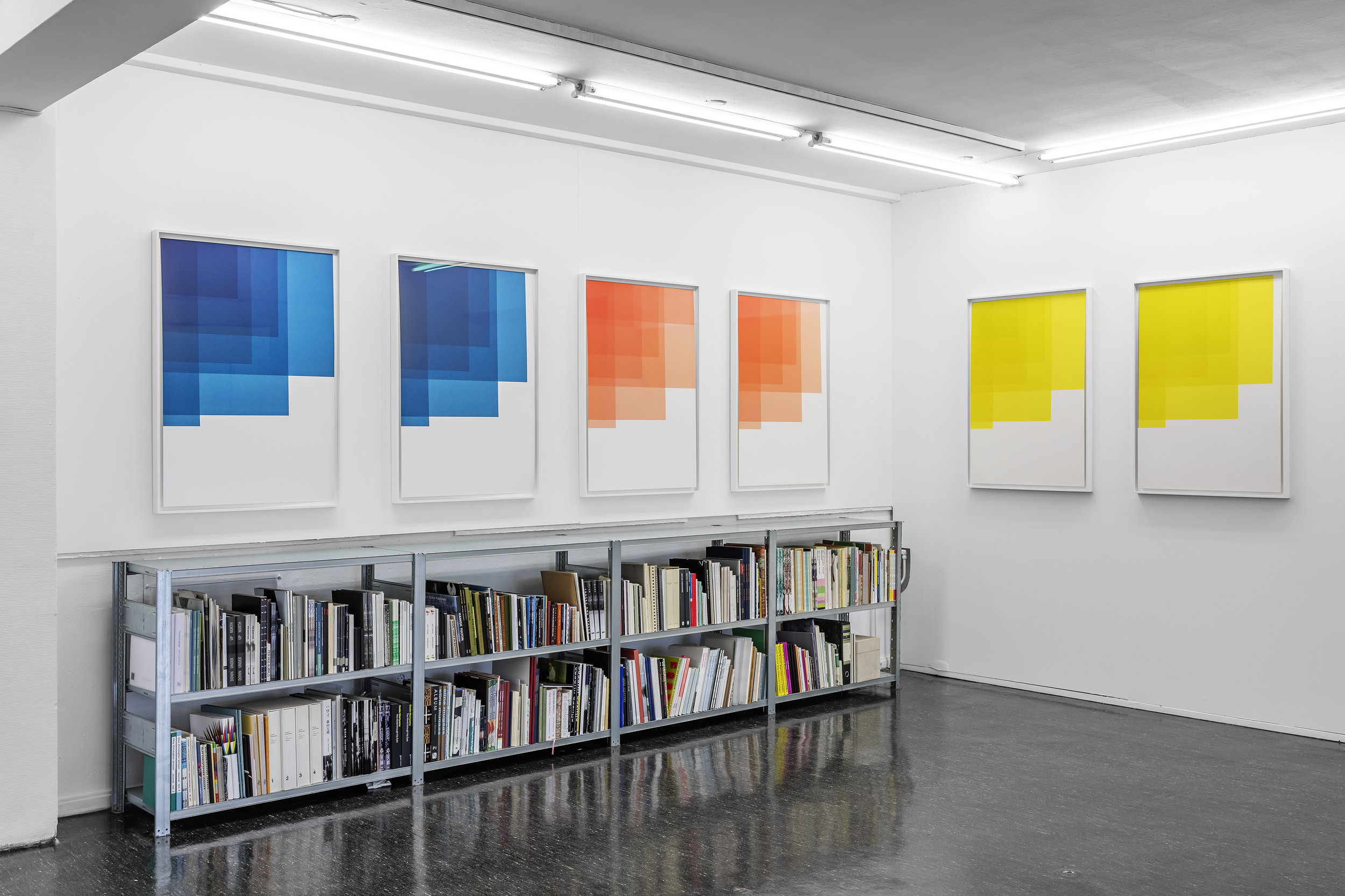 Collecting Colors . 2016. Installation view Galleri Riis Kristian Augustsgate Oslo.