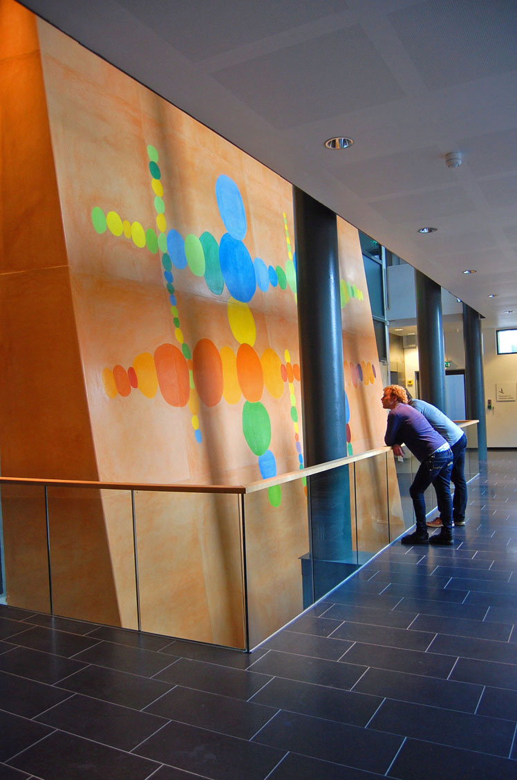 Norges Musikkhøgskole. Oslo. 2006-07. Stucco Lustro.
