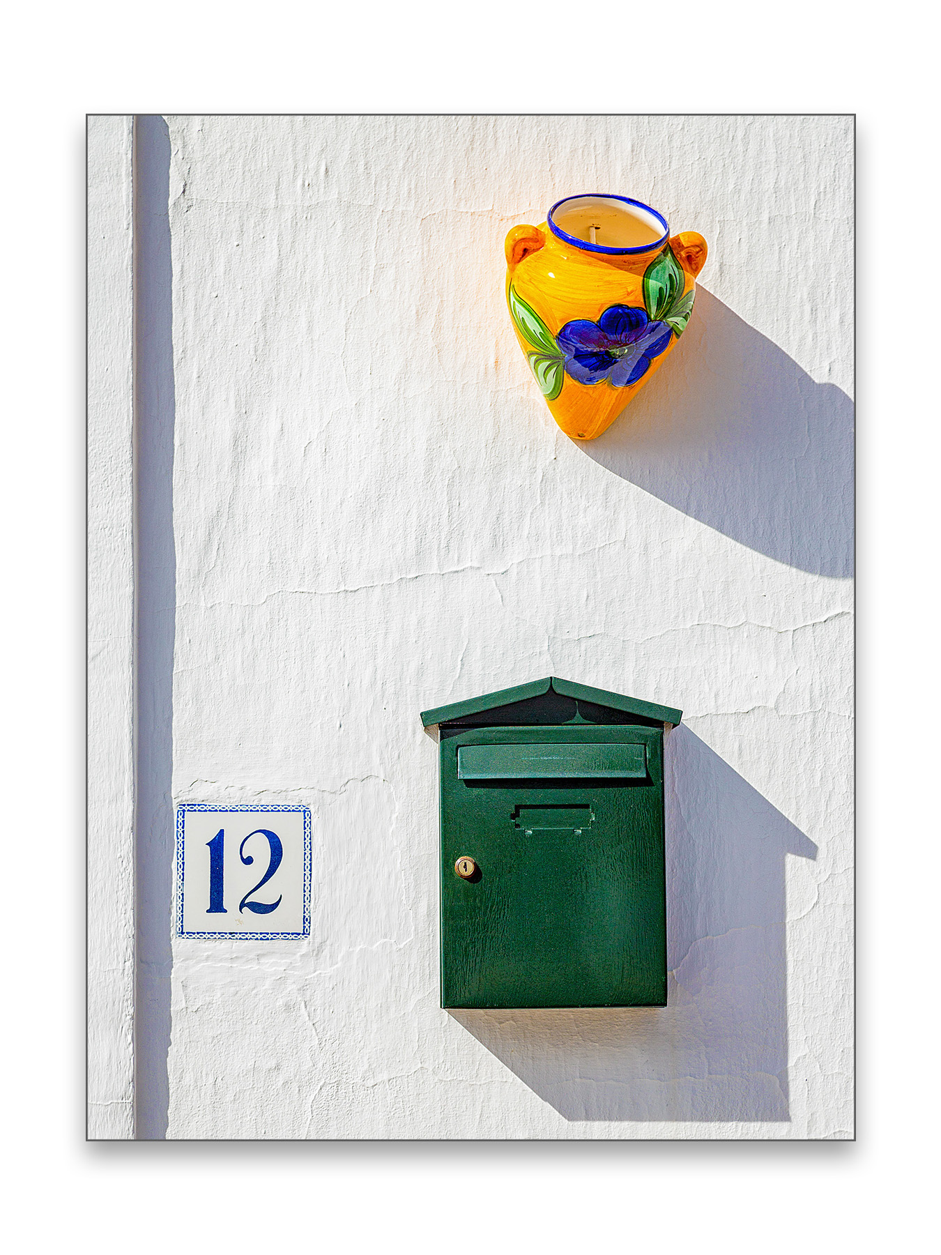 Green Letter Box - 30 x 40 cm € 65,-45 x 60 cm € 95,-60 x 90 cm, € 175,-Limited edition of 54 of 5 available