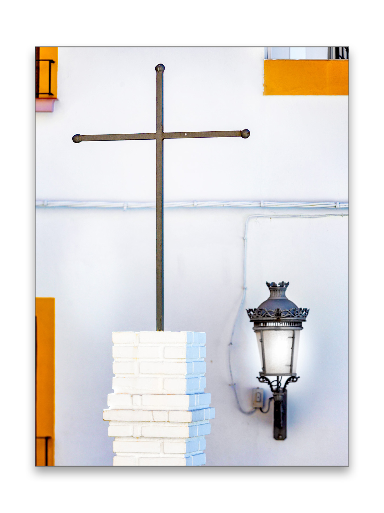 Steel Cross - 30 x 40 cm € 65,-45 x 60 cm € 95,-60 x 90 cm, € 175,-Limited edition of 108 of 10 available