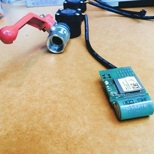 Water Connected || Things Connected #iot #bigdata #slimmebouwplaats #lora @tbiholdingsbv