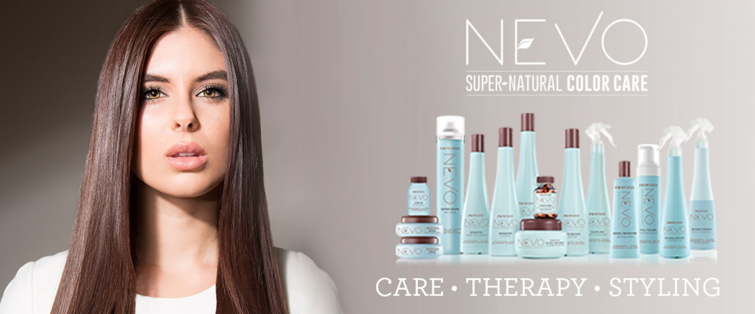 Pravana Nevo - Earth-friendly line featuring 100 % vegan, gluten-free, and cruelty-free products. Each product in the NEVO collection contains PRAVANA's exclusive Drops of the Amazon, a natural complex designed to nurture, protect and preserve the surface of hair with three vital ingredients derived from some of the most resilient plants found in the Amazon: Mulateiro Extract, Babassu Oil and Brazil Nut Oil. With everything from treatments, to styling products, to color maintenance, this line has something for everyone.