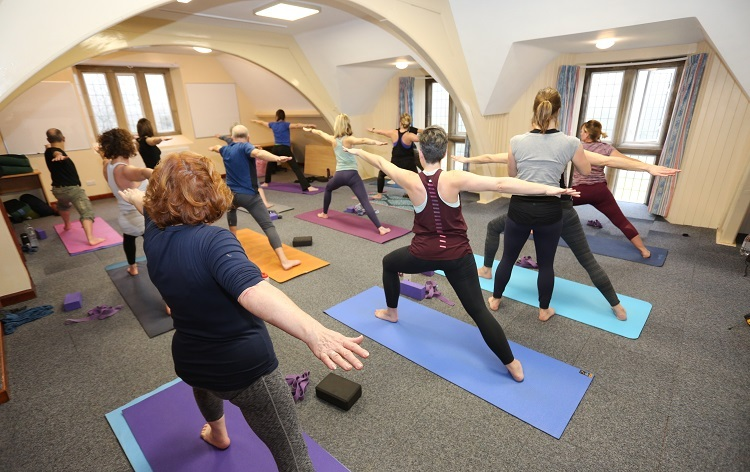 Mountain Yoga Breaks at Elan Valley Lodge