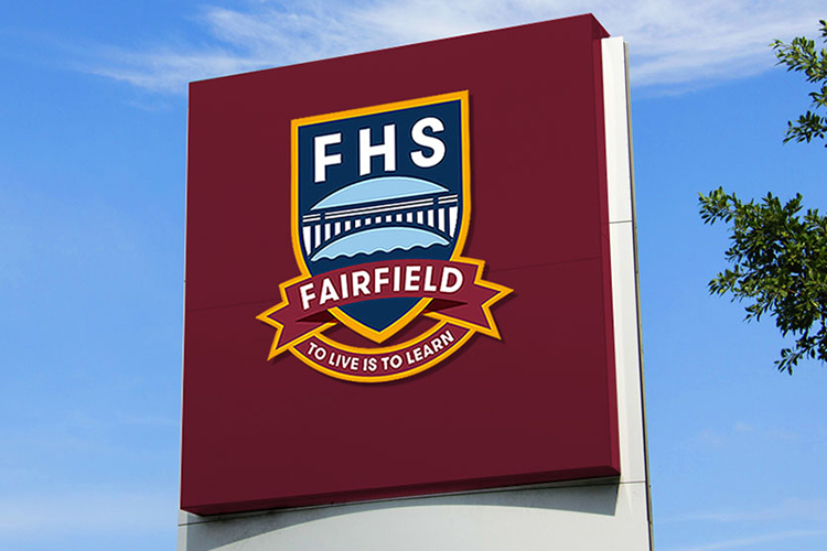 FAIRFIELD  HIGH SCHOOOL RE-BRANDING