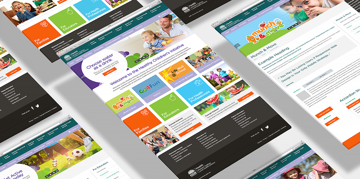 NSW HEALTHY CHILDRENS WEBSITE