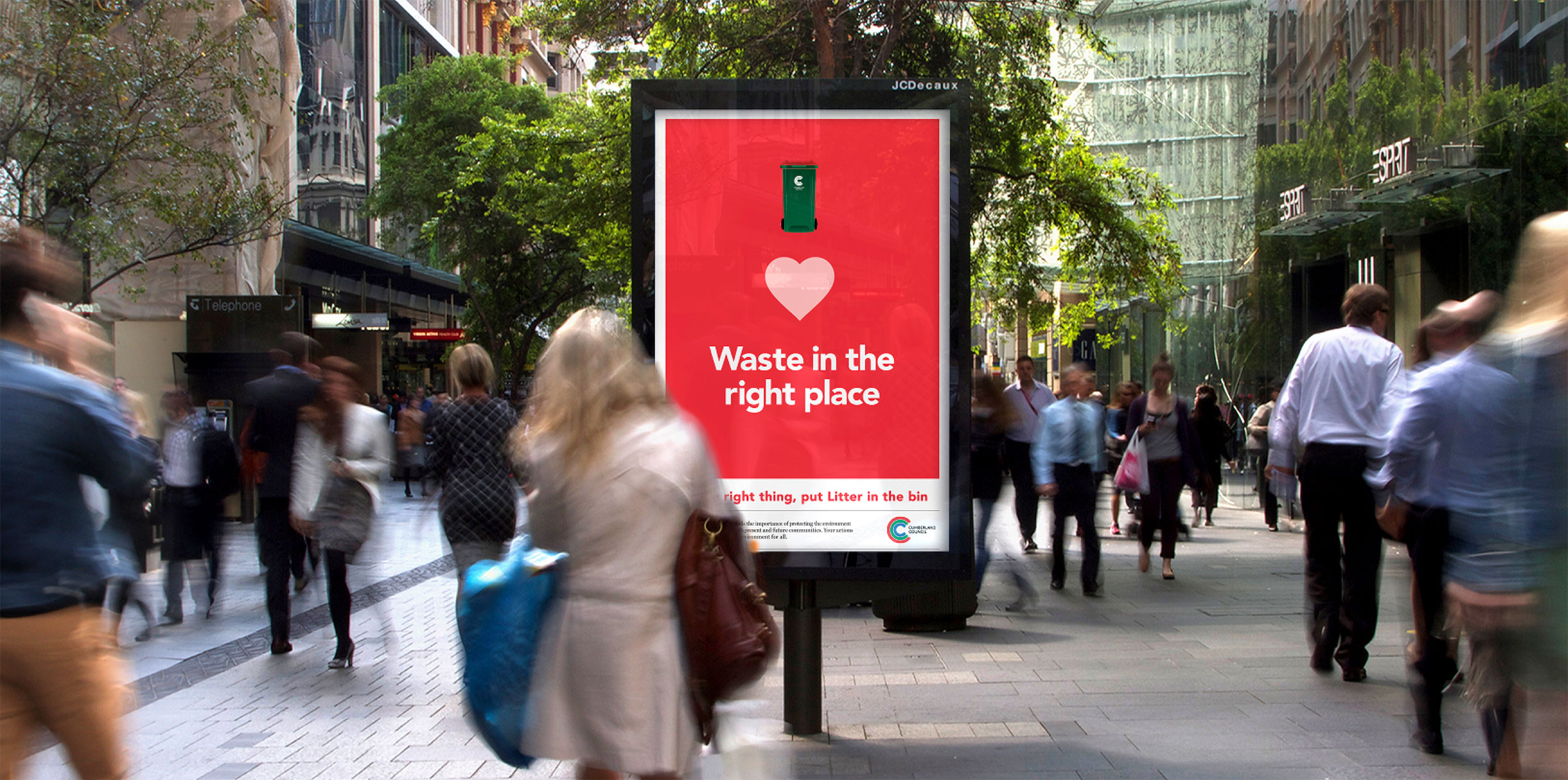 Cumberland Council Waste Campaign