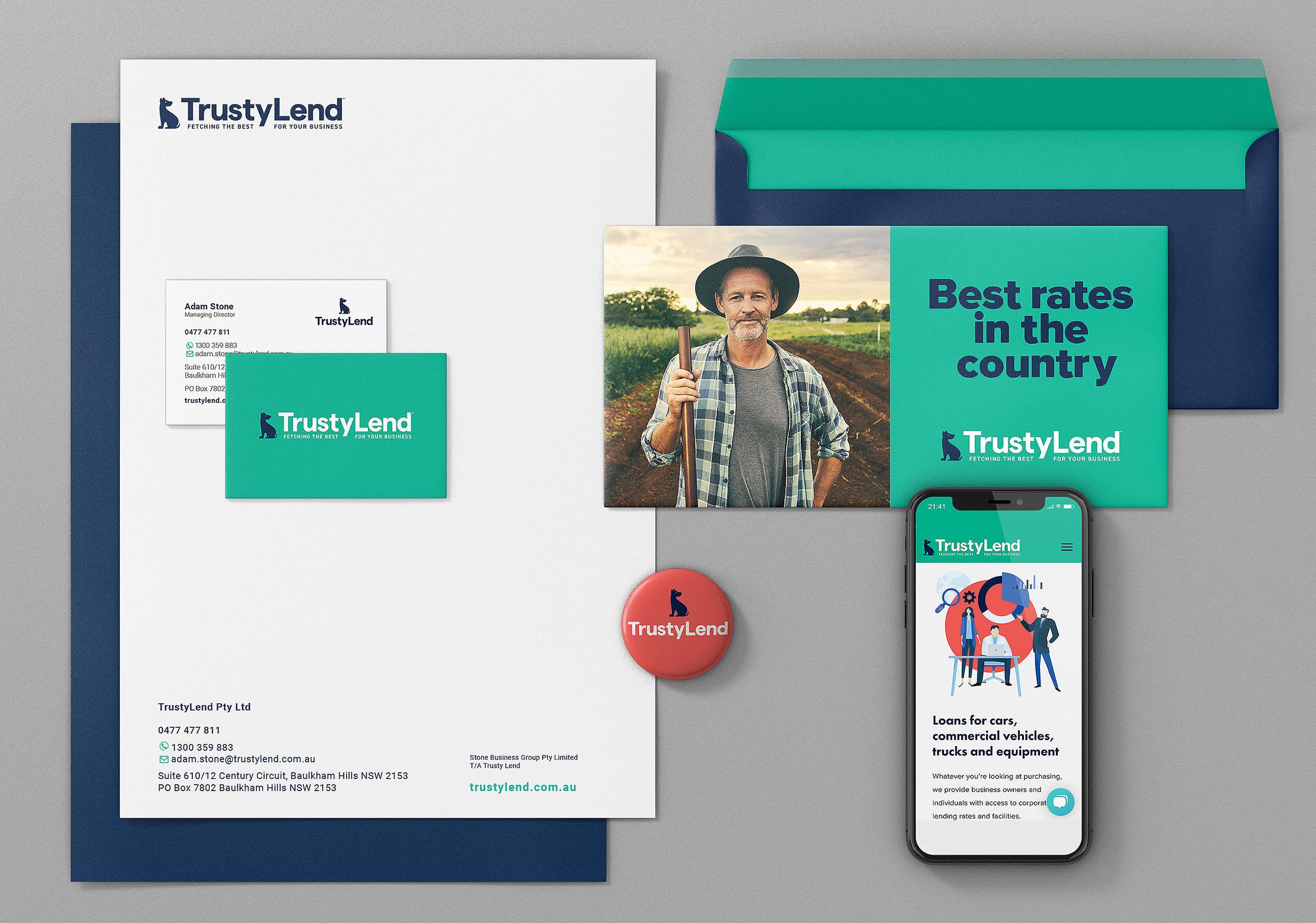 TrustyLend  Brand Identity