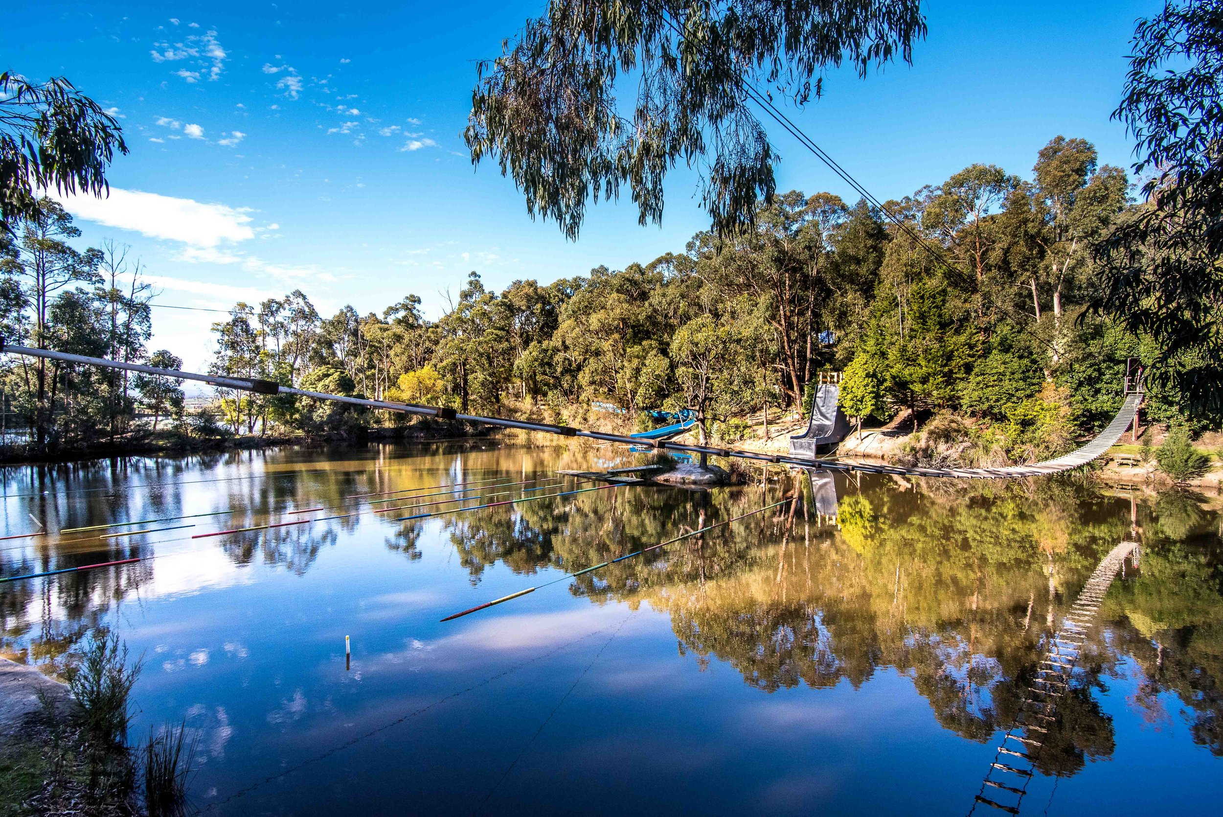 Where  We have partnered with the multi-award winning outdoor Adventure Park,   The Summit.   Located in Trafalgar East, Victoria,  It is only 90 minutes from CBD Melbourne.