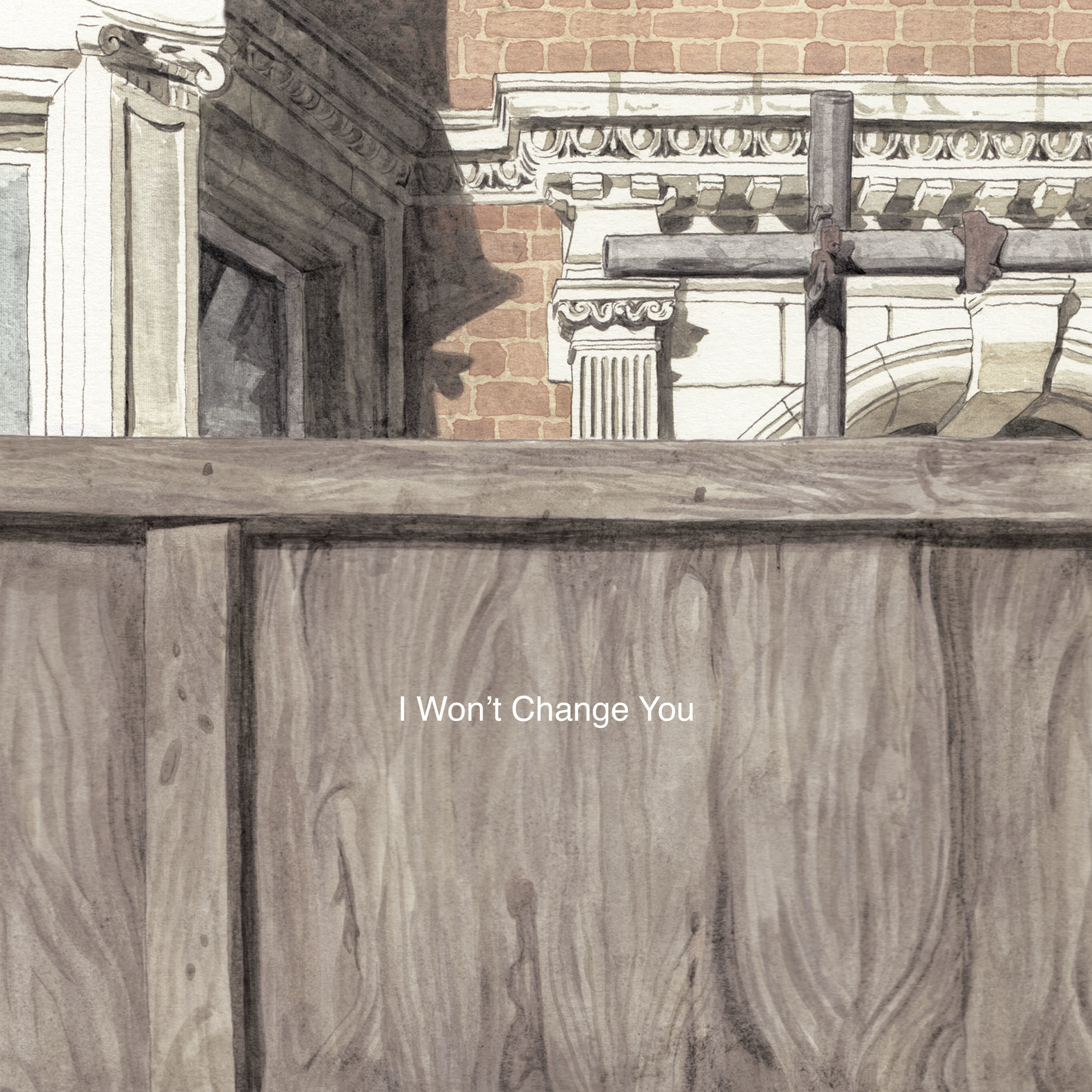 I Won't Change You EP - Artwork