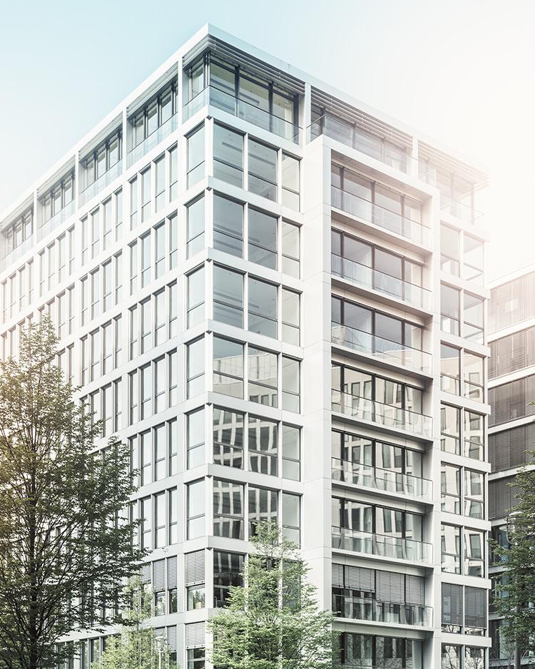 Foto einer Büroimmobilie