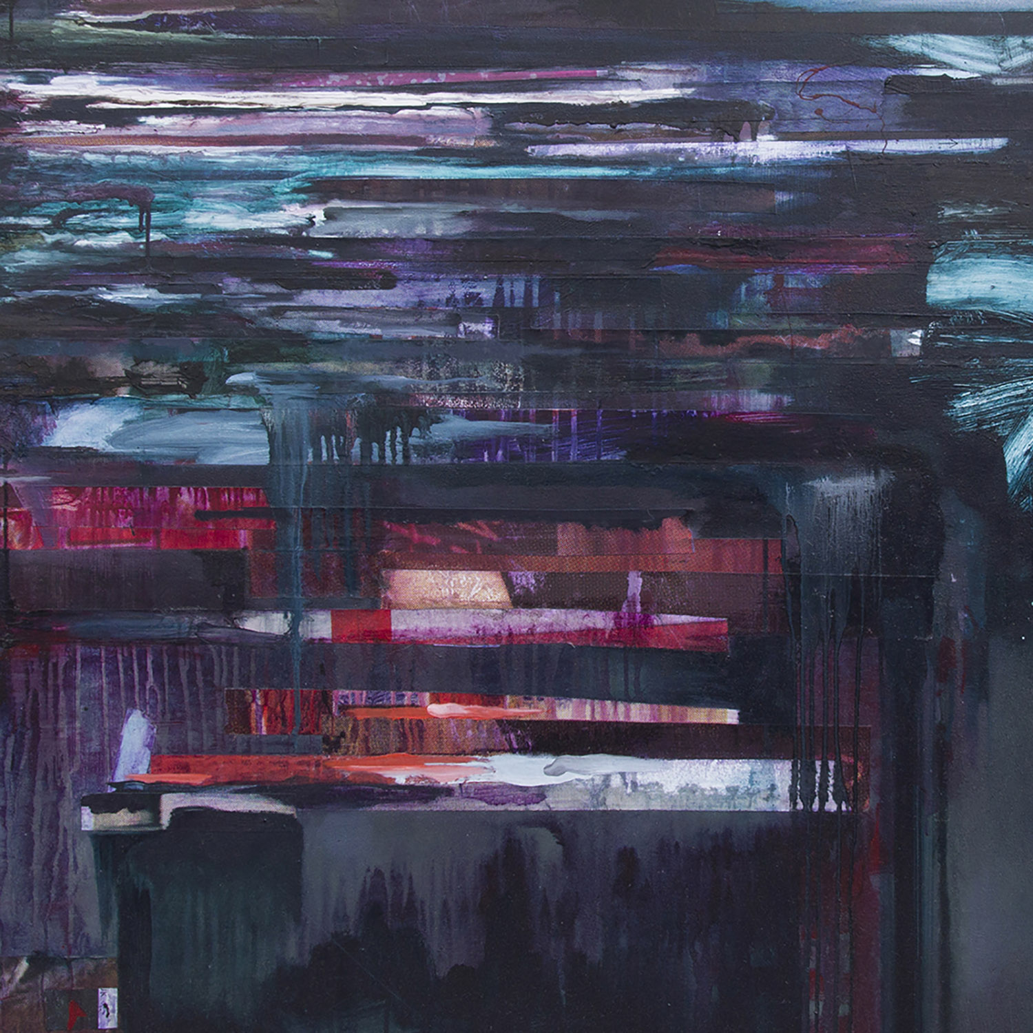 ABSENCE IN A CROWDED SPACE, 2015  The