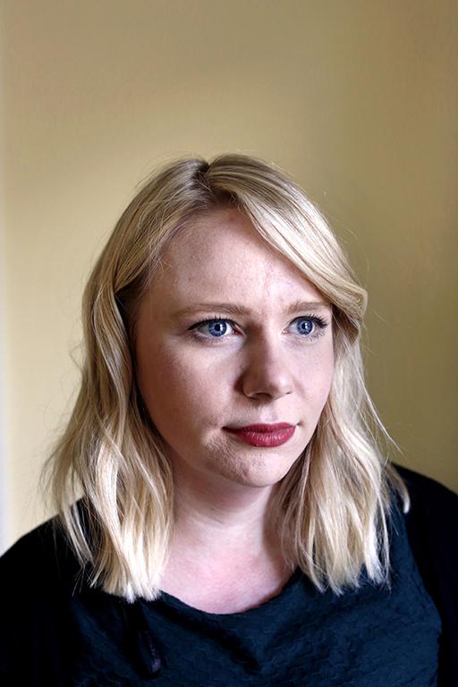 Megan Evans.Photographed March 2018 by Stephen Burke.