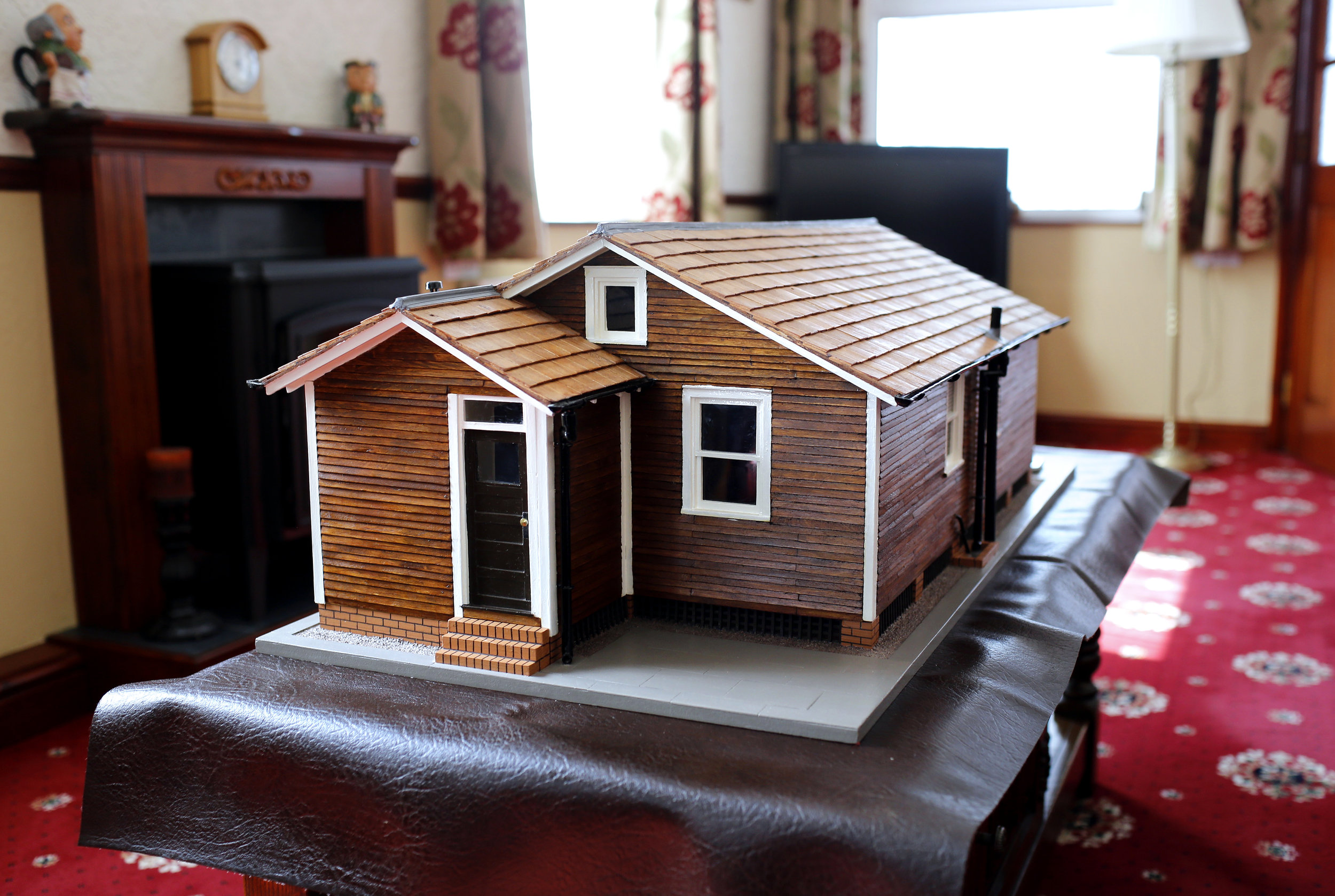 Model of an Austin Village House