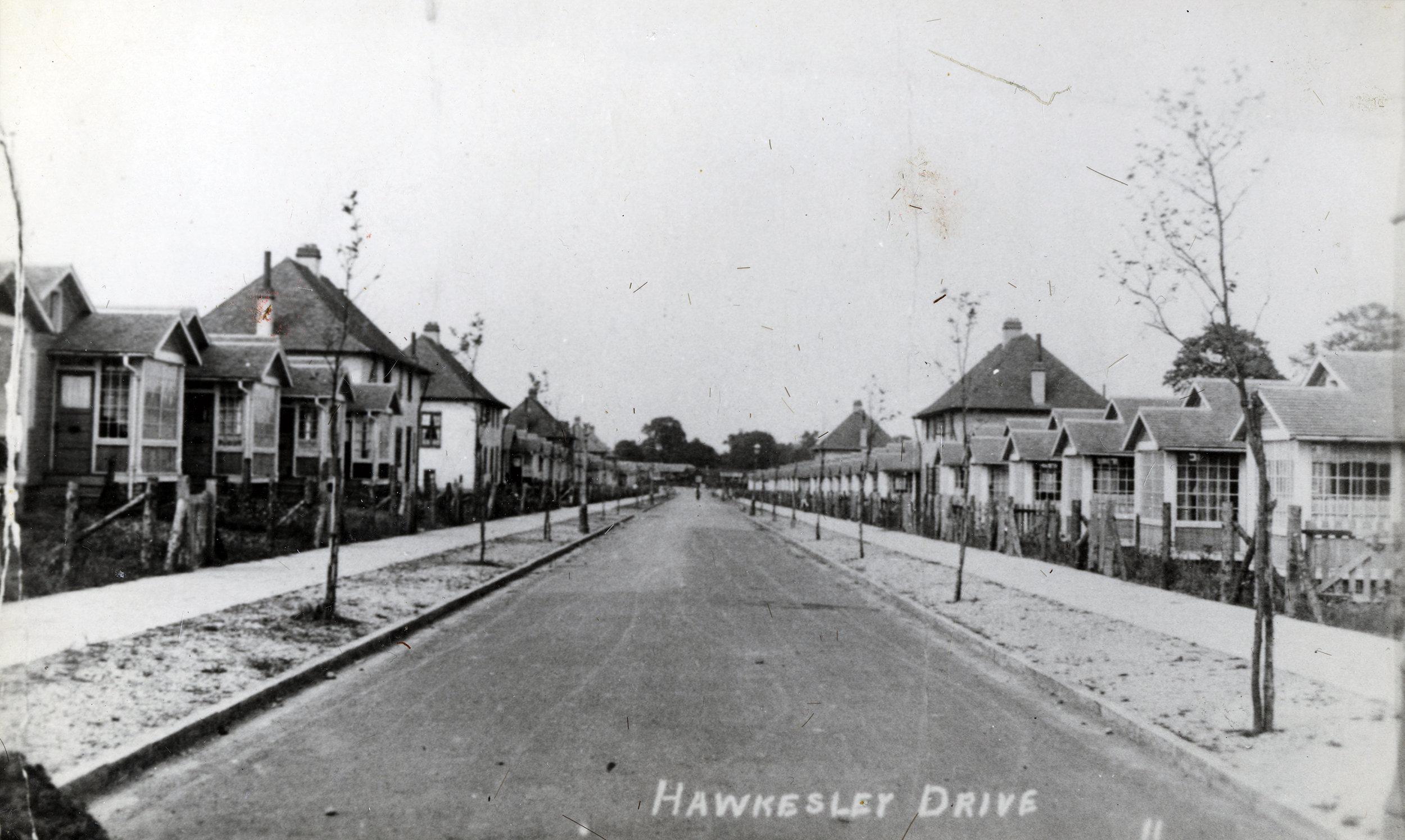 Hawkesley Drive, 1920's