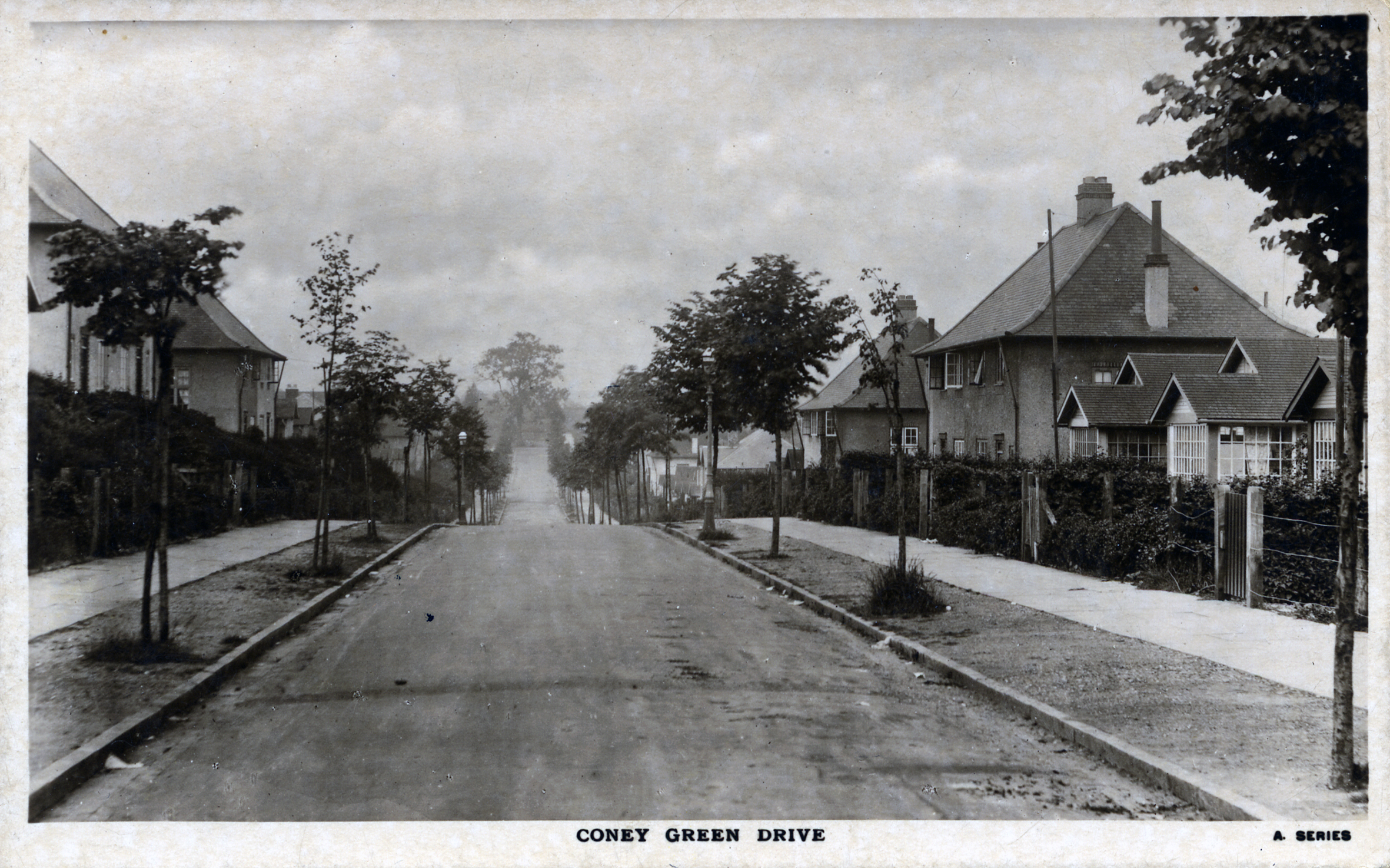 Coney Green Drive, 1920's