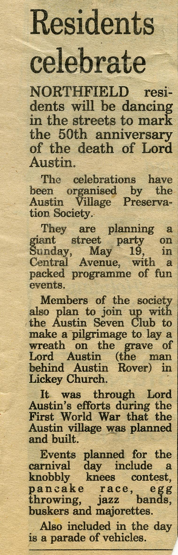 May, 1991
