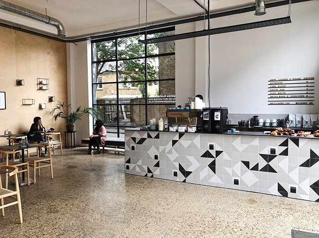 """Just what Hackney needed """"another"""" damn coffee shop. We are now officially open and making coffees @thefactorydalston come in and say hi, be nice and patient as we have no idea where anything is!"""