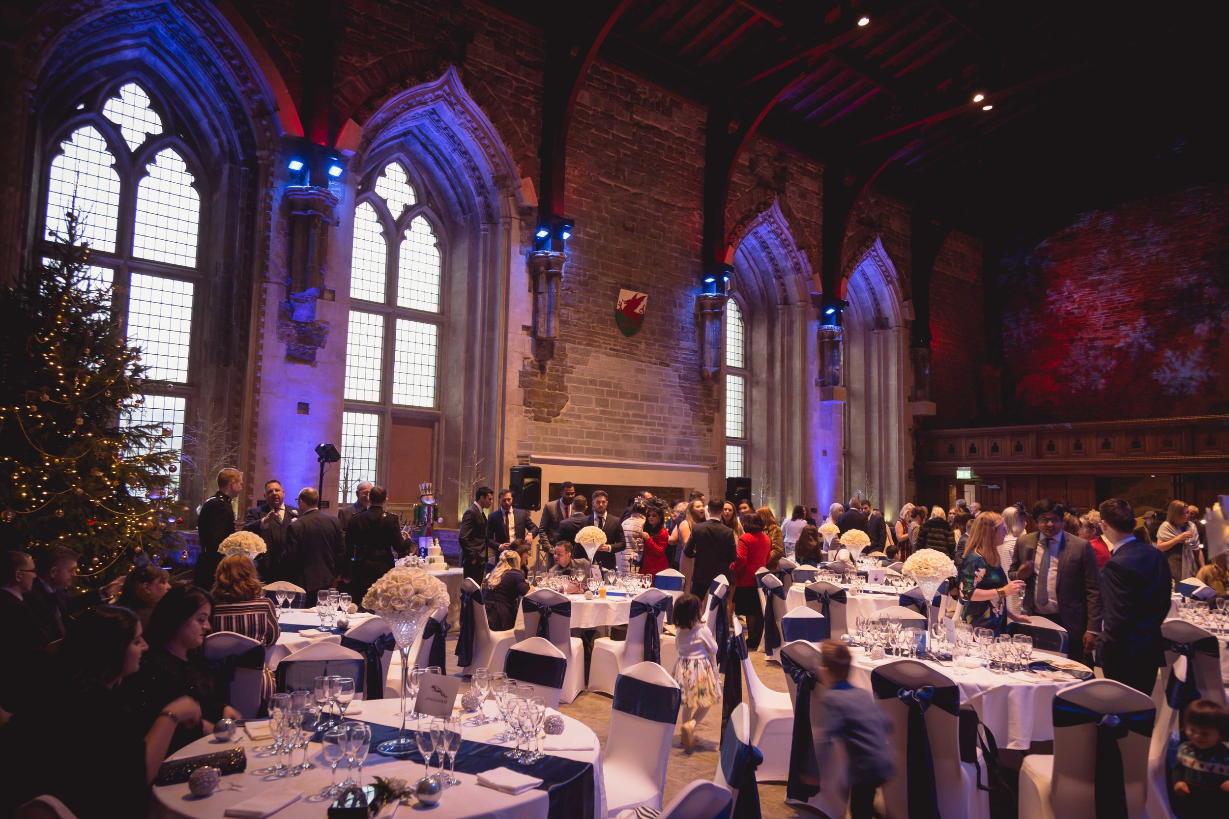 Image of the wedding venue, The Great Hall, Caerphilly Castle