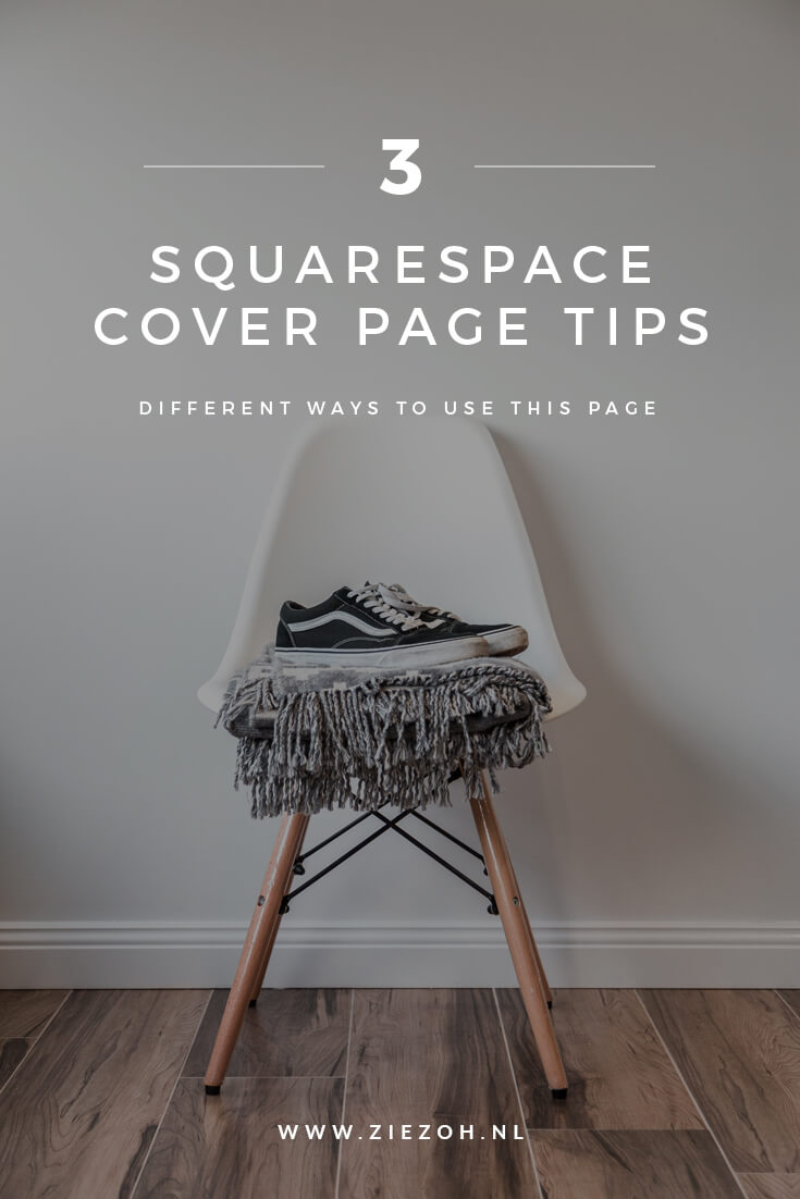 3 SQUARESPACE COVER PAGE TIPS DOOR  ZIEZOH DESIGN STUDIO