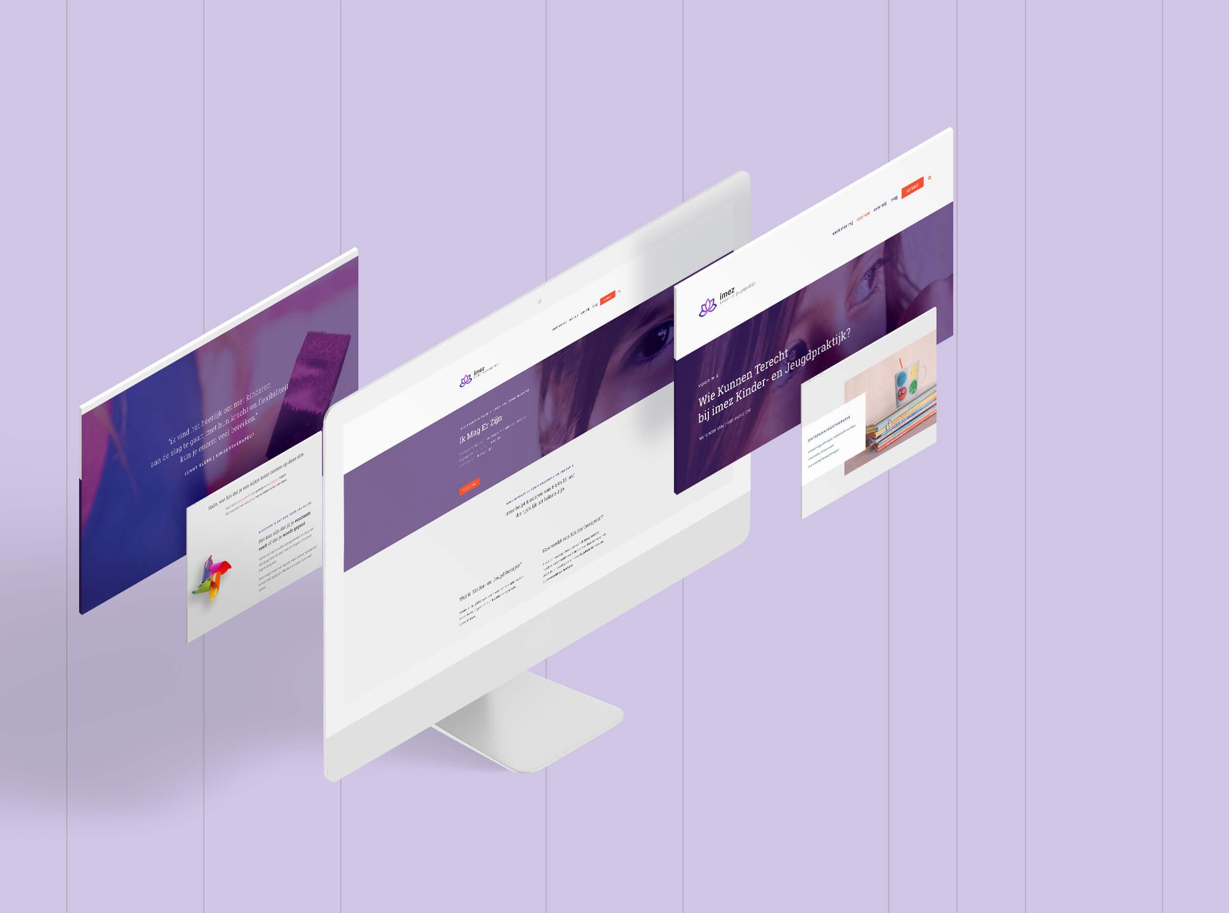 imez website presentatie