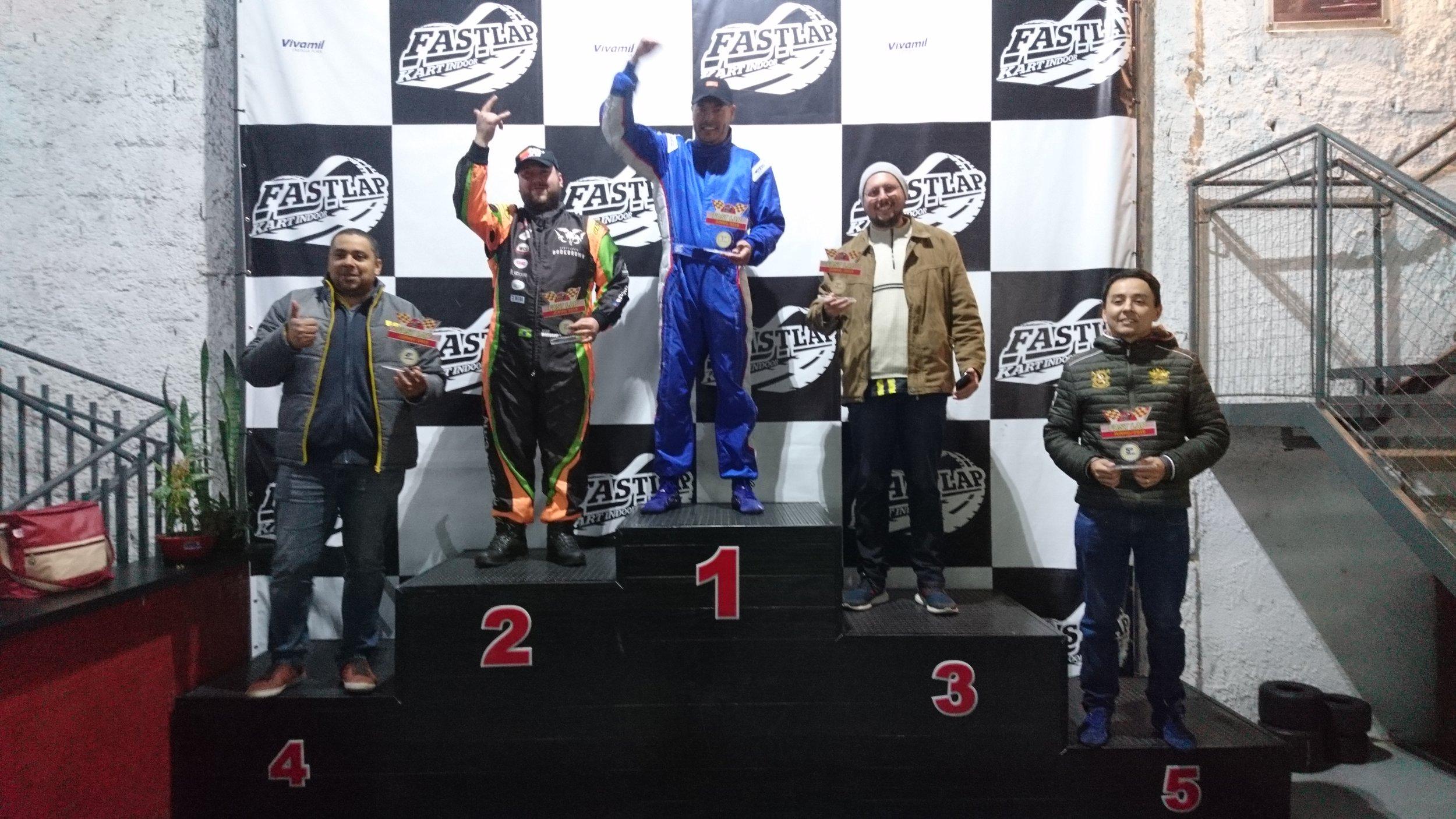 Troféu Fast Lap Junho/2019