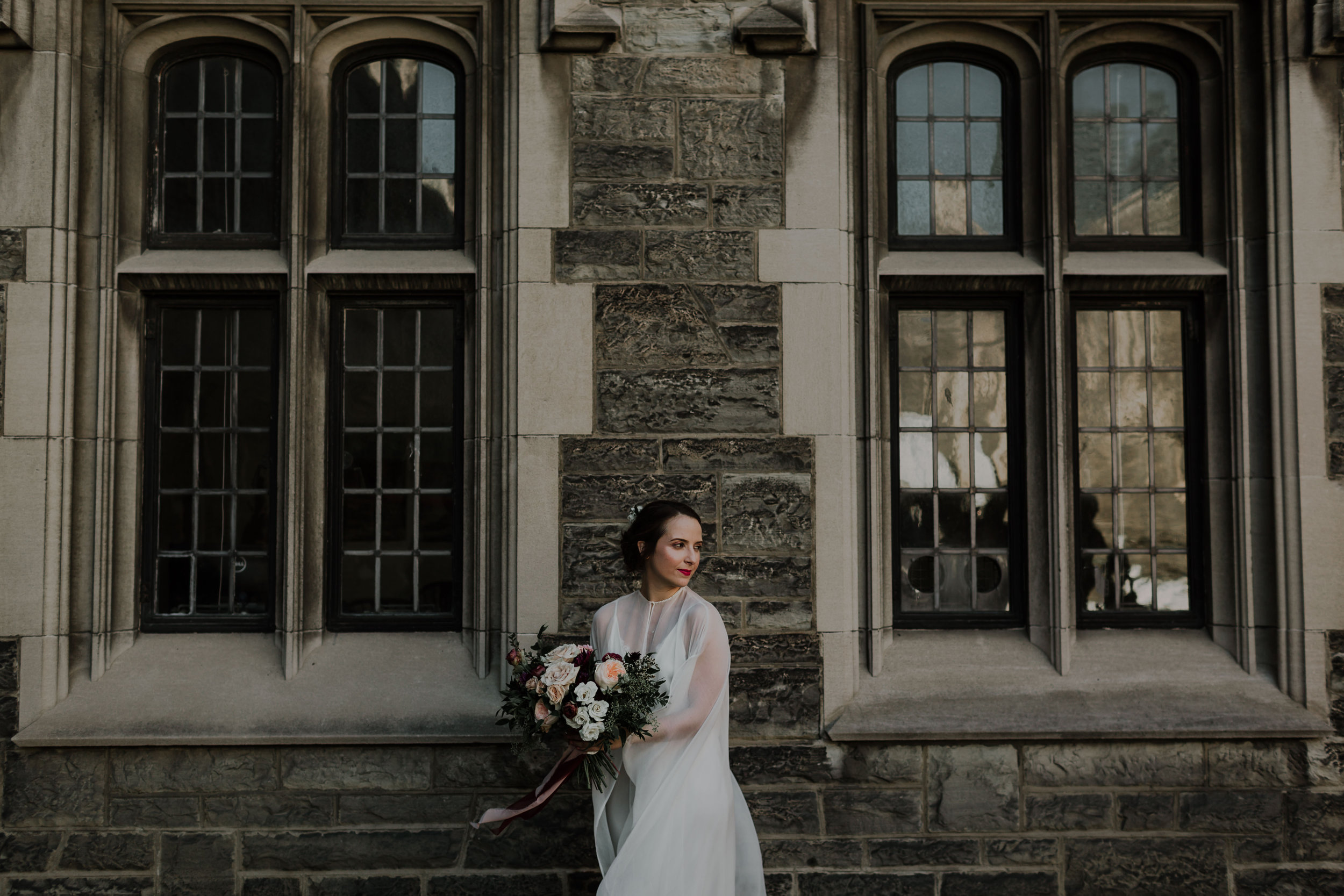 alex dylan wedding toronto hart house distillery district fall autumn outdoor best top flowers rikki marcone events wild rustic