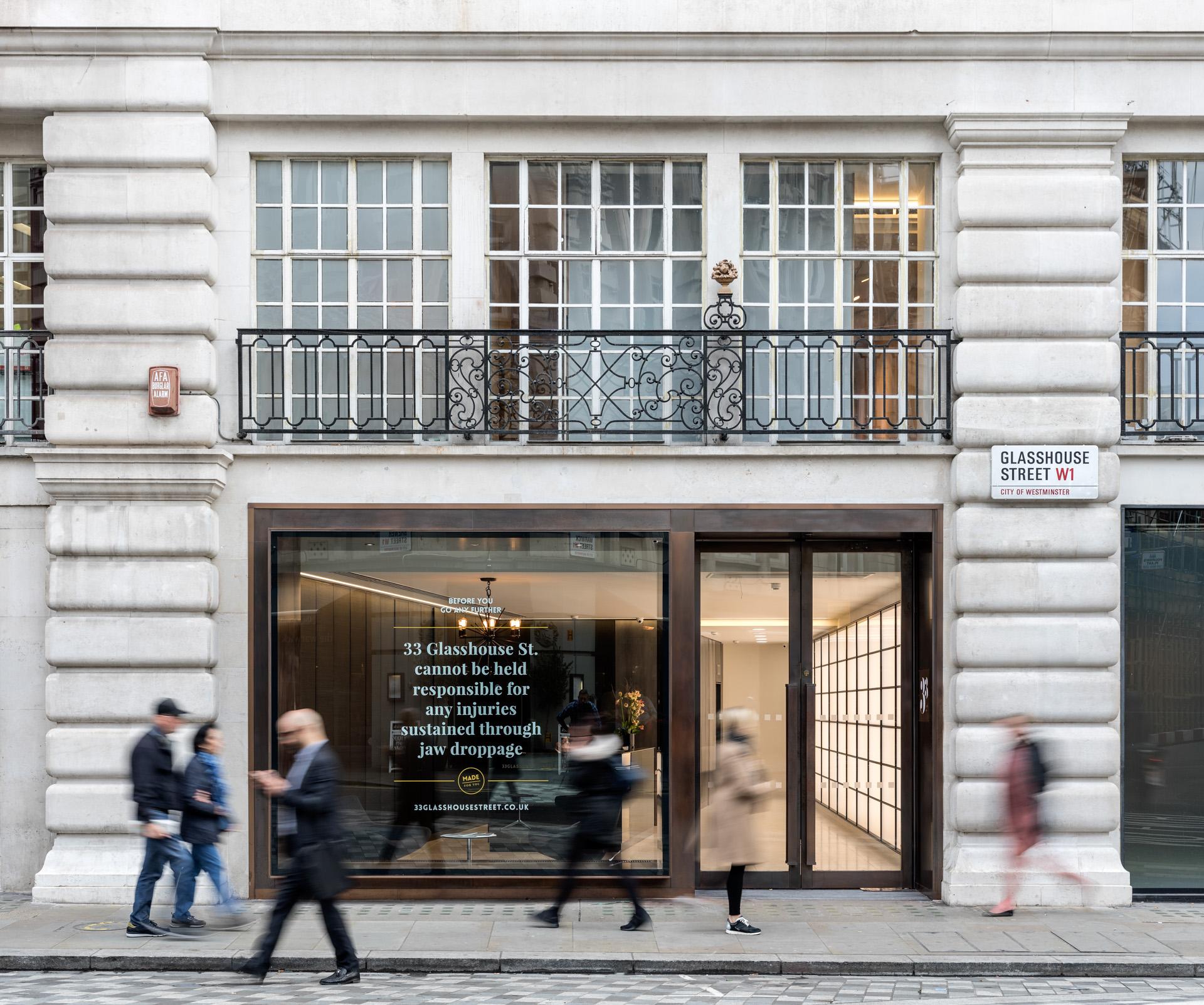 33 Glasshouse Street -