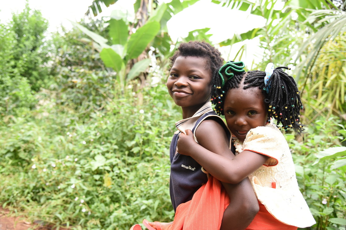 Before her surgery, Beltivette often had to be carried to go to school or fetch water.