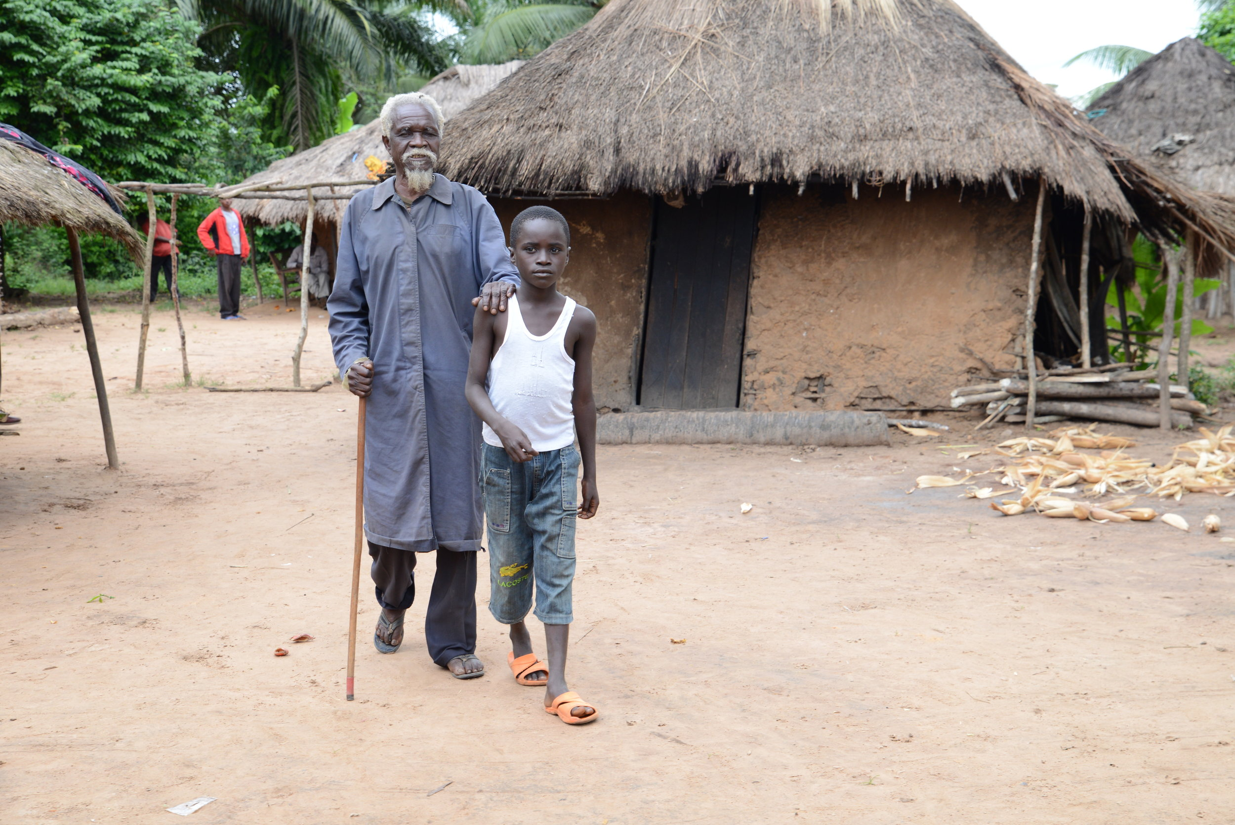 Albert from the Democratic Republic of the Congo