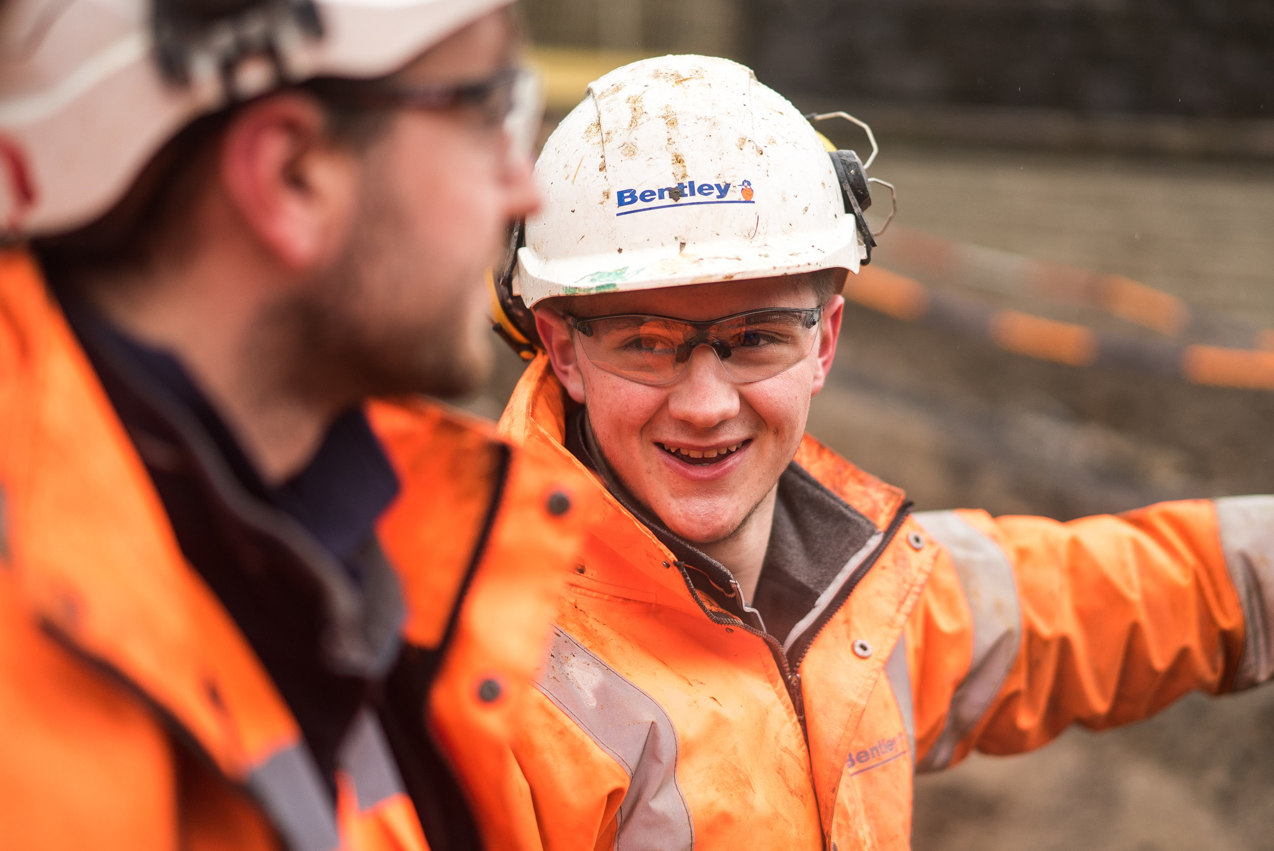 """JN Bentley - """"Apprenticeships work for JN Bentley because they're enabling us to bring people into and up through the business.They're practical and hands-on and give our mentors chance to develop their skills too."""""""