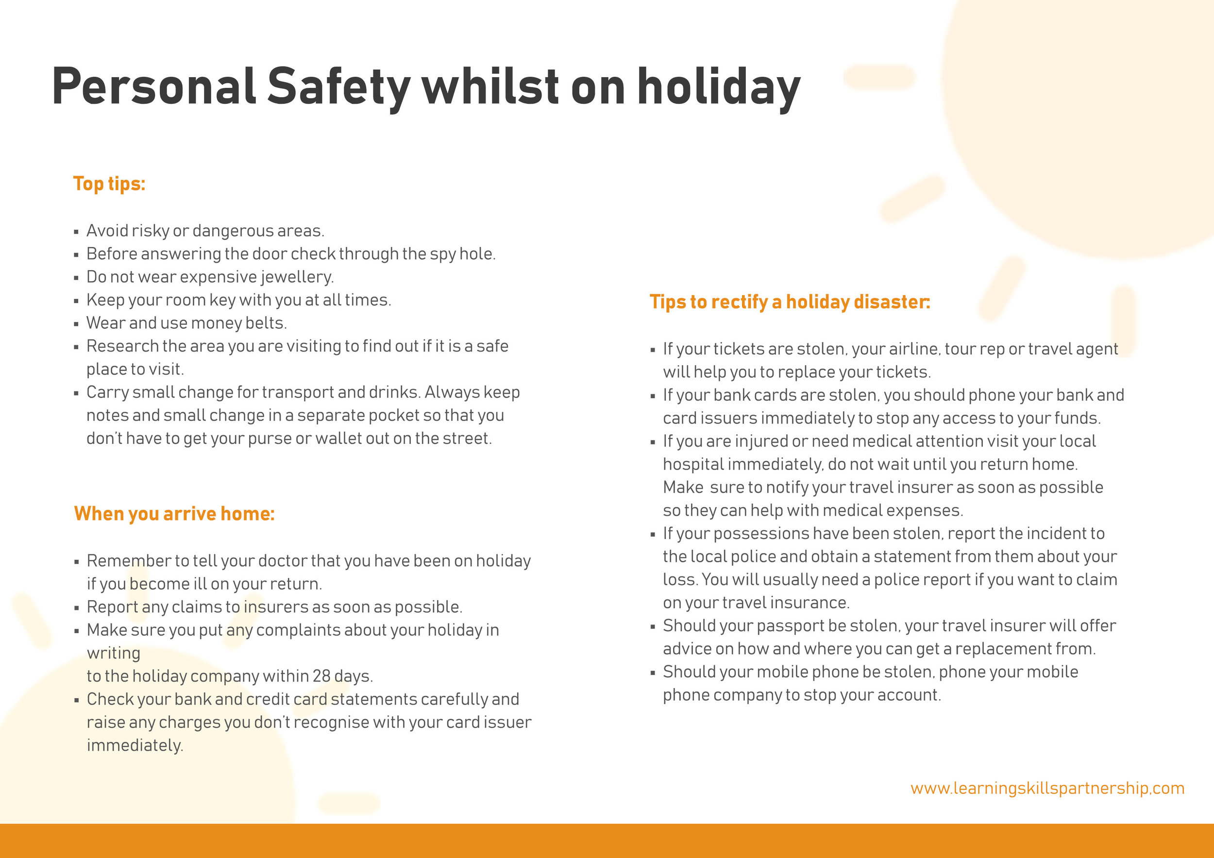 Personal Safety whils on holiday - Handout.jpg