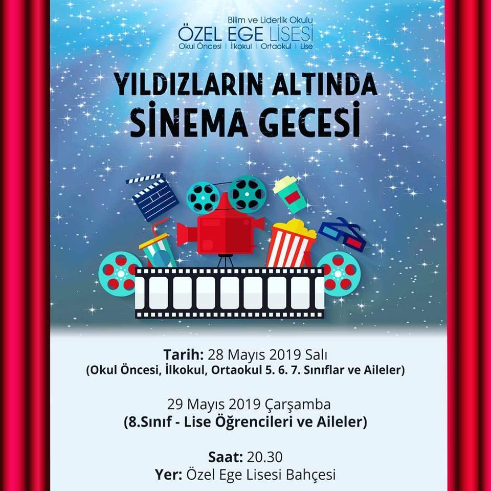 - Yıldızlar Altında Sinema Gecemize davetlisiniz.
