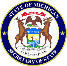 The State of Michigan Secretary of State