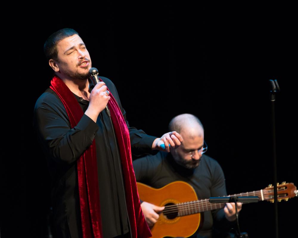 Antonio Zambujo performed at Lincoln Center in the David Rubenstein Atrium on March 29th.