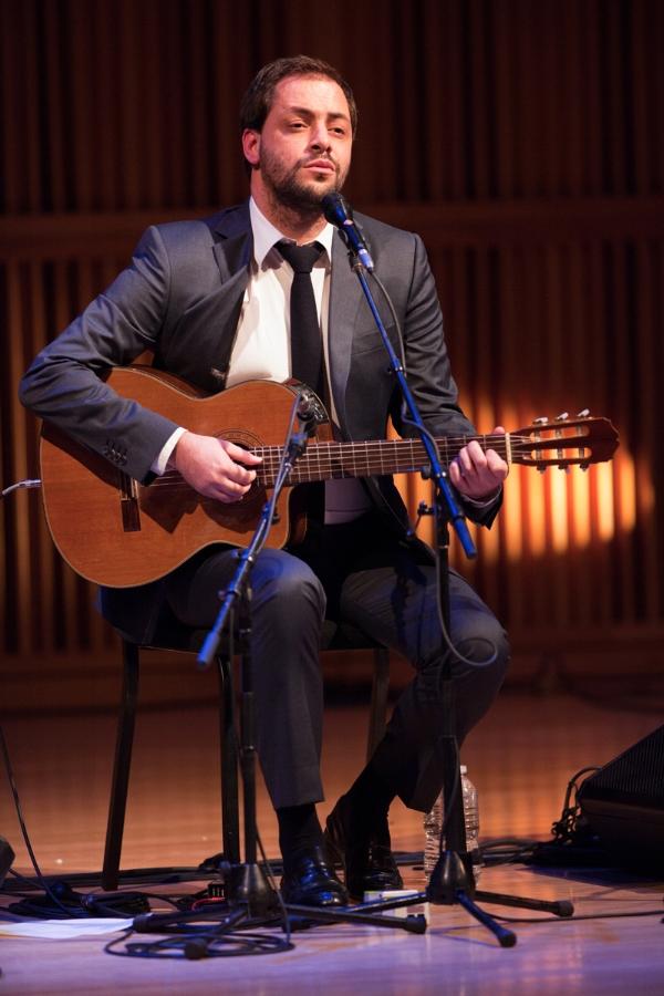Fado singer Antonio Zambujo in a 2011 appearance at Elebash Hall in Manhattan