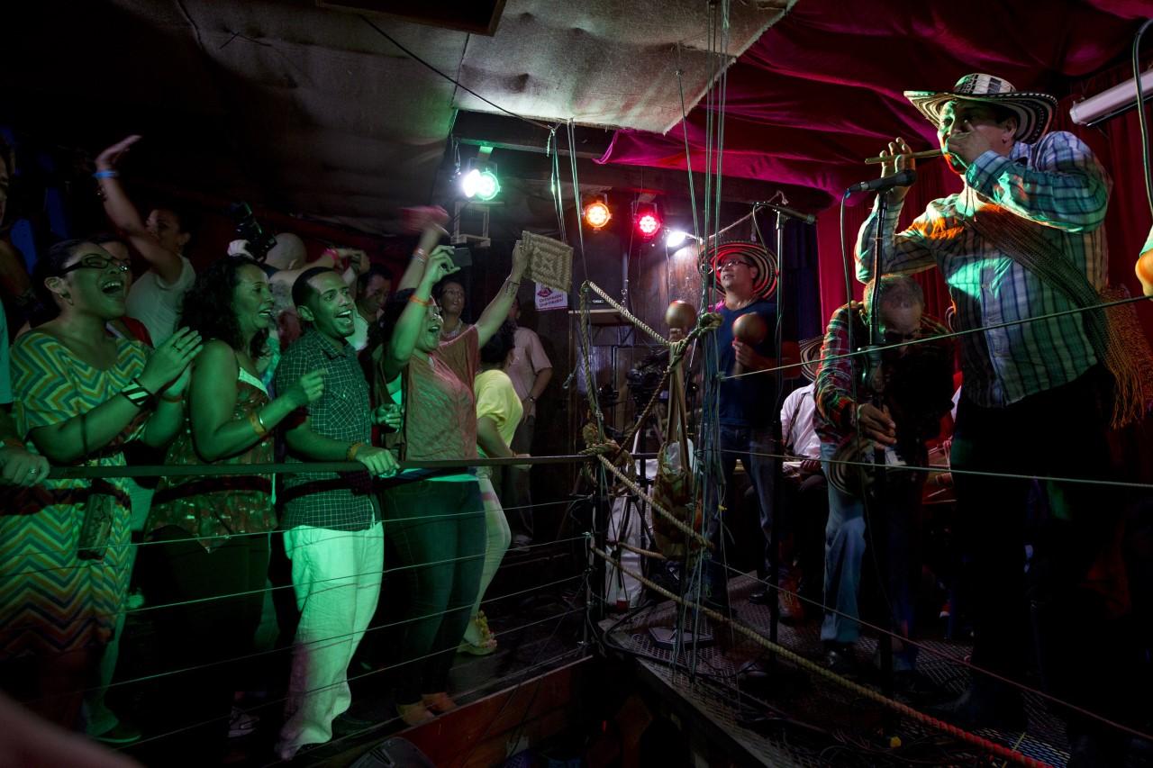 Los Gaiteros de San Jacinto featuring  Juan Alberto Fernández  at Terraza 7 in 2012