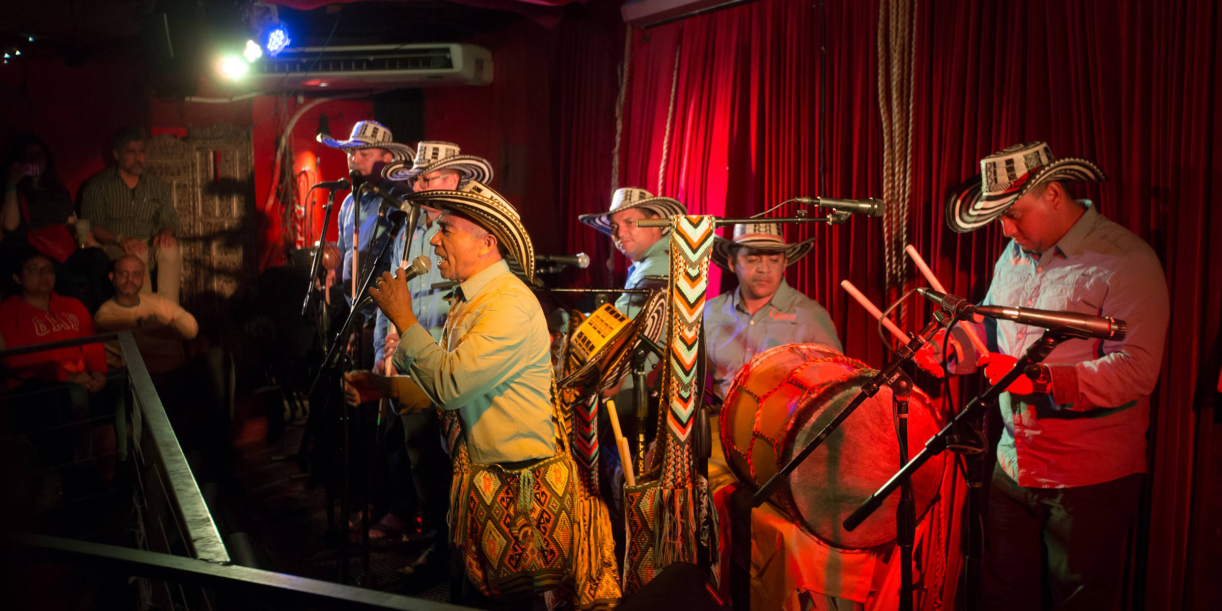 Los Gaiteros de San Jacinto performing at Terazza 7, in Elmhurst, NY June 28th 2018