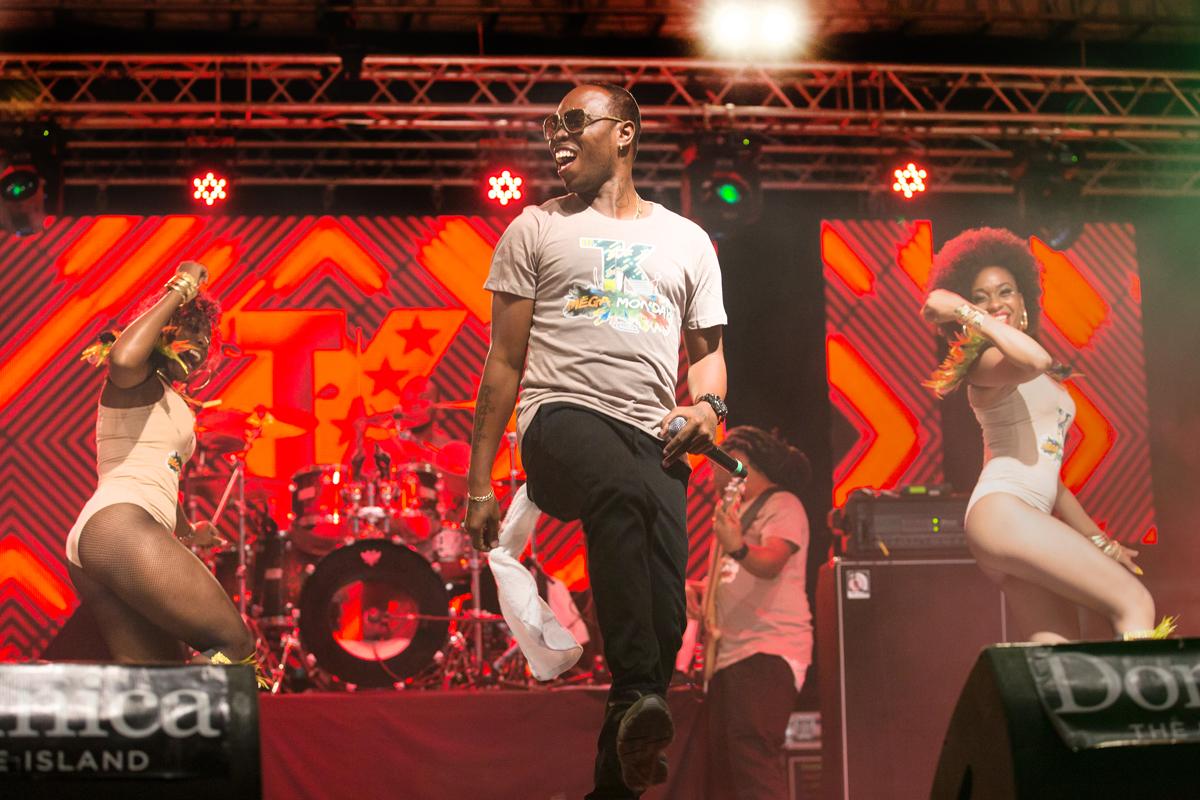 Dominica's Triple Kay International, closing saturday night 's show