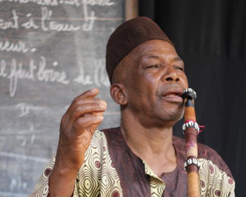 Mamadou Mansare, flute teacher
