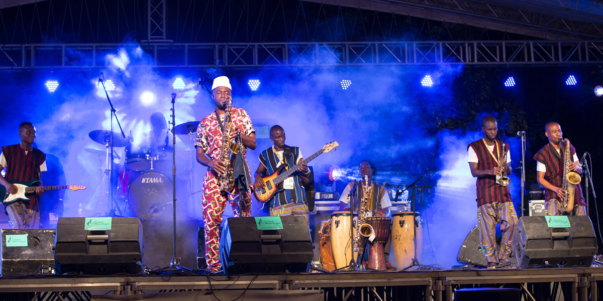Seun Olota Nigerian saxophonist and bandleader performing at MASA March 12th, as a musician Olota identifies his music with the historical context of afrobeat rather than the afrobeat pop movement.