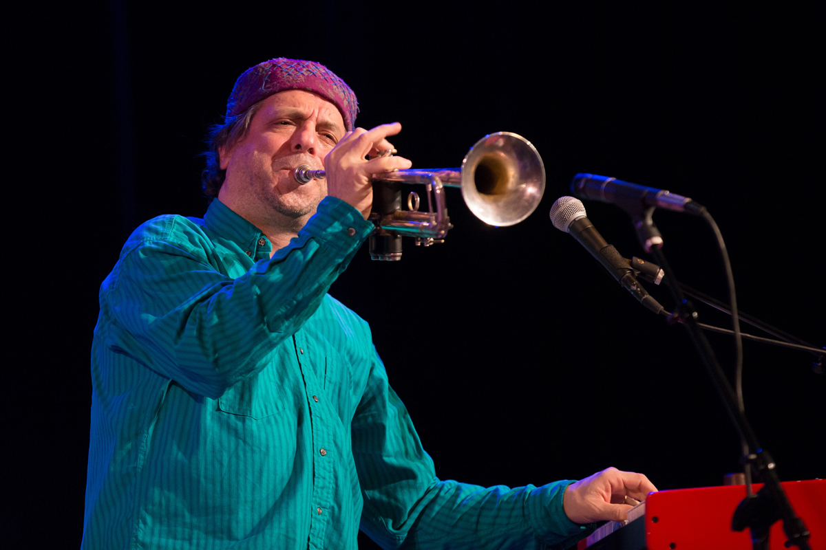 Frank London and the Klezmatics in concert at Town Hall, Manhattan, January 20th.