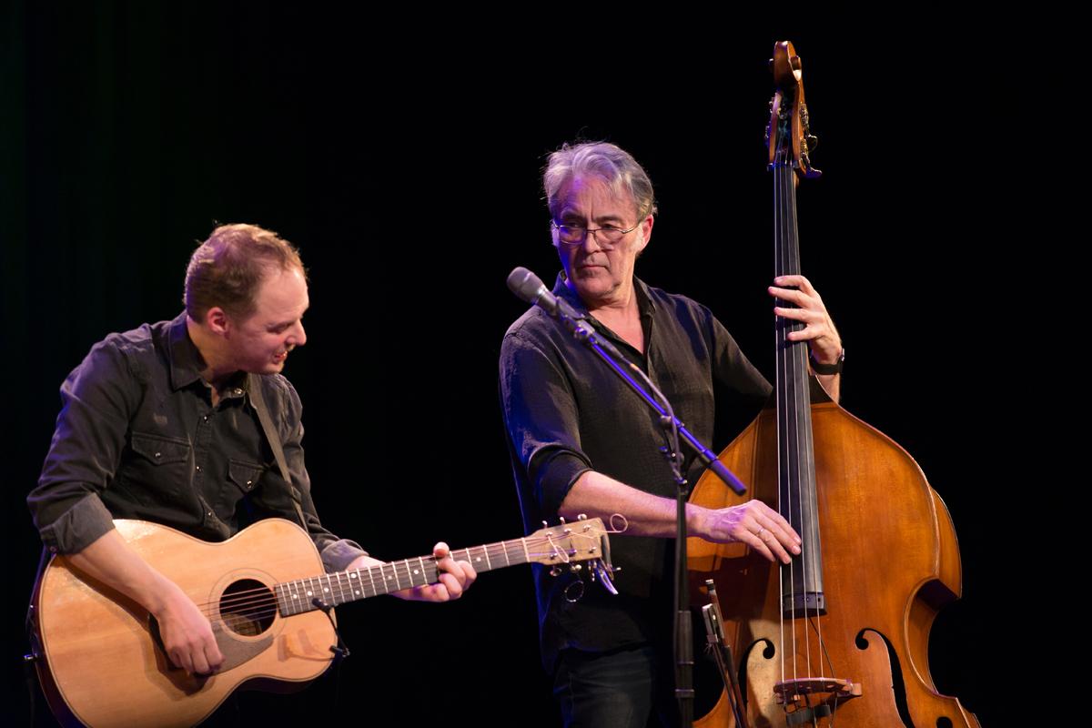 Lunasa's , Ed Boyd (guitar), Trevor Hutchinson (bass)