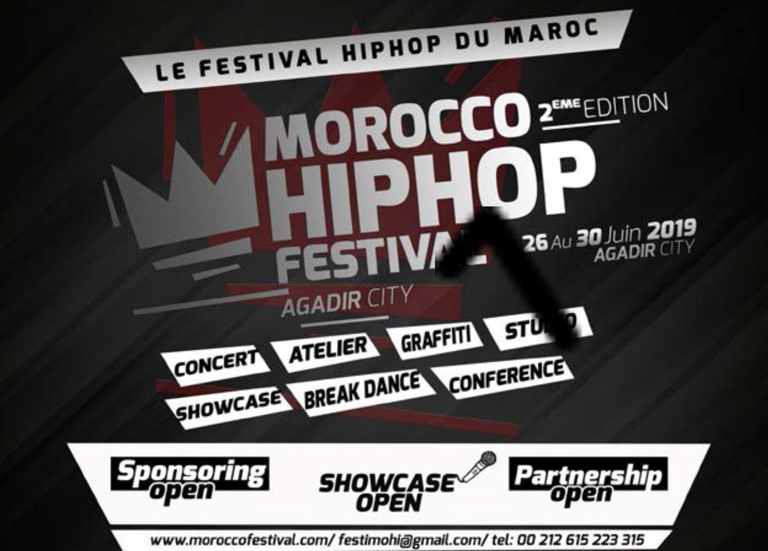 Agadir City Hip Hop Festival, South coast of Morocco June 26th-30th