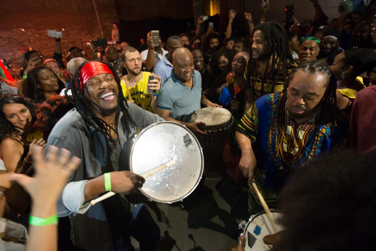 Boukman Eksperyans from Haiti returns to the Festival International in Lafayette LA . Full lineup here:  https://festivalinternational.org/2019-artists/